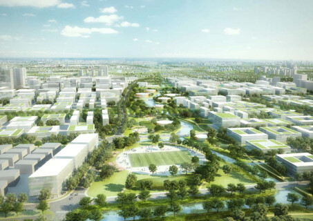 Zhangjiang Science and Technology City als Living University