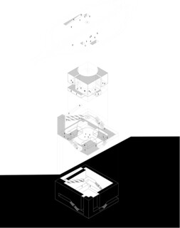 Rome Concrete Poetry Hall architecture competition