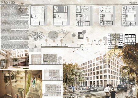 Barcelona: Barrio Social Housing