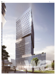 Hochhaus 99 West – AfE-Areal