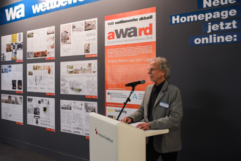wettbewerbs ergebnis wa award 2018 anders bauen auf dem land. Black Bedroom Furniture Sets. Home Design Ideas
