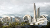 Gewinner: Zaha Hadid Architects/TPO Pride Architects - Rendering © Flying Architecture