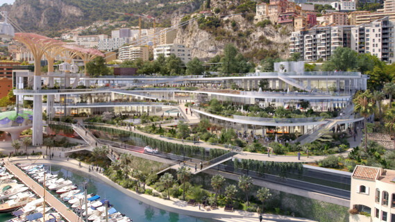 Restructuring and extension of the new Fontvieille site