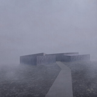 Iceland Black Lava Fields Visitor Center