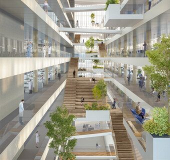 Human Technopole: New Building and Campus for scientific research