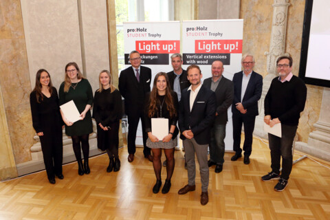 proHolz Student Trophy 2020: Light up! Aufstockungen mit Holz