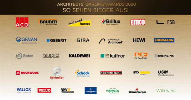 ARCHITECTS' DARLING® Awards 2020